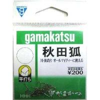 がまかつ   秋田狐  ( 茶 ) 10枚セット 【 3号 〜 7 号 】
