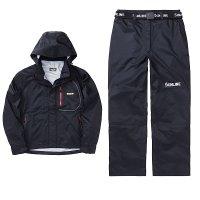 【メーカー在庫限り】 サンライン ディアライト オールウェザースーツ SCW-6109 ブラック×ブラック S