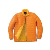 ハヤブサ エアウェイトダウンジャケット Y1119 オレンジ(16) Sサイズ