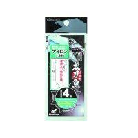 ハヤブサ 太刀魚 ナイロン1本鈎速掛仕様 1本鈎3セット HW302 5号 (ハリス 5号)【10点セット】