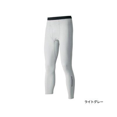 画像1: ≪'17年3月新商品!≫ シマノ サン プロテクション タイツ IN-065Q ライトグレー Lサイズ