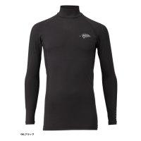 ≪'17年4月新商品!≫ ハヤブサ SUNSHADE レイヤードアンダーシャツ Y1632 ブラック(90) Lサイズ