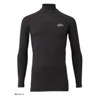 ≪'17年4月新商品!≫ ハヤブサ SUNSHADE レイヤードアンダーシャツ Y1632 ブラック(90) LLサイズ