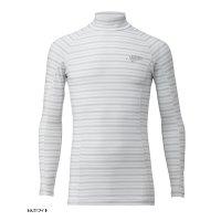 ≪'17年4月新商品!≫ ハヤブサ SUNSHADE レイヤードアンダーシャツ Y1632 ホワイト(10) Mサイズ