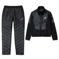 ≪'17年11月新商品!≫ サンライン ステータス・HOTインナースーツ STW-3222 ブラック Lサイズ