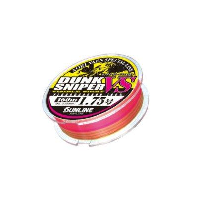 画像1: ≪新商品!≫ サンライン ダンクスナイパー ビジブルサイト 160m 1.75号 イエロー&ピンク