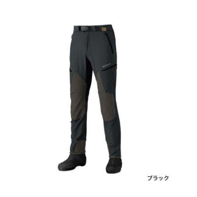 画像1: ≪'18年3月新商品!≫ シマノ 撥水ストレッチパンツ PA-041R ブラック 3XLサイズ