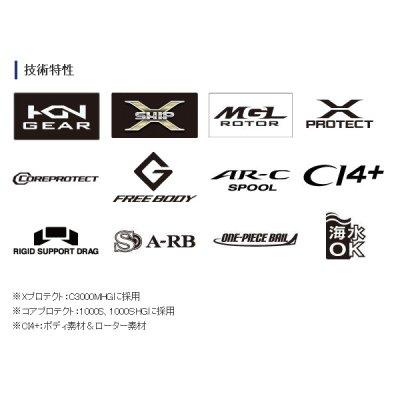 画像2: ≪'18年8月新商品!≫ シマノ '18 カーディフ CI4+ 1000SHG [8月発売予定/ご予約受付中]