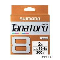 ≪'19年3月新商品!≫ シマノ タナトル 8 PL-F68R 200m 0.6号 5カラー【3個セット】