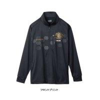 ≪'19年9月新商品!≫ サンライン フルジップアップシャツ SUW-5574HT ブラック Sサイズ [9月発売予定/ご予約受付中]