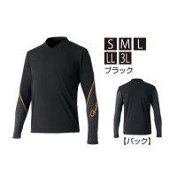 ≪'20年2月新商品!≫ がまかつ 2WAYストレッチアンダーシャツ GM-3620 ブラック Sサイズ