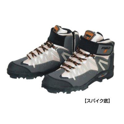 画像1: 阪神素地 スパイクシューズ ハイカットモデル(スパイク底) FX-901 ベーシュ Mサイズ