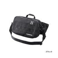 ≪'20年8月新商品!≫ シマノ XEFO・タフ ウェストバッグ BW-211S ブラック Mサイズ