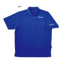 ≪'21年2月新商品!≫ がまかつ ポロシャツ(半袖) GM-3656 ブルー Sサイズ