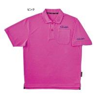 ≪'21年2月新商品!≫ がまかつ ポロシャツ(半袖) GM-3656 ピンク Sサイズ