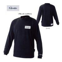 ≪'21年2月新商品!≫ がまかつ ロングスリーブTシャツ GM-3657 ブラック×ホワイト Sサイズ