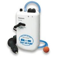 ハピソン  カー電源/乾電池式2WAYエアーポンプ YH-737B