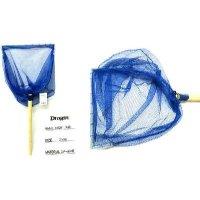 マルシン ドラゴン 木柄付 三角網 ( 33cm ) ブルー